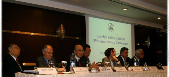 35 TH ANNIVERSARY OF THE FOREIGN POLICY INSTITUTE ANKARA – NOVEMBER 4 TH, 2009