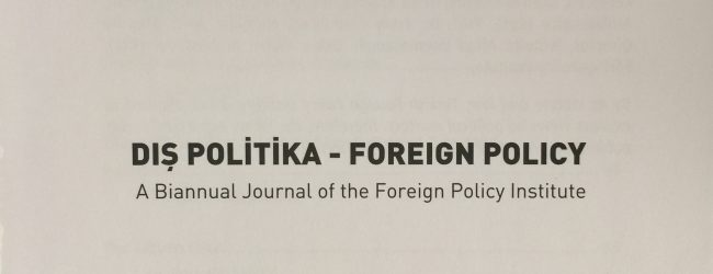 """Foreign Policy"" 2015/2th"