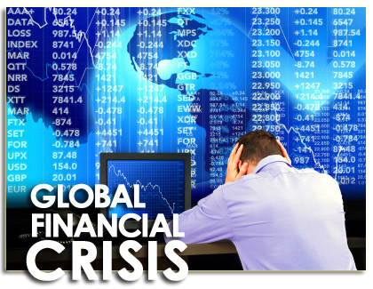 WORLD ECONOMY IS GOING INTO A SERIOUS CRISIS