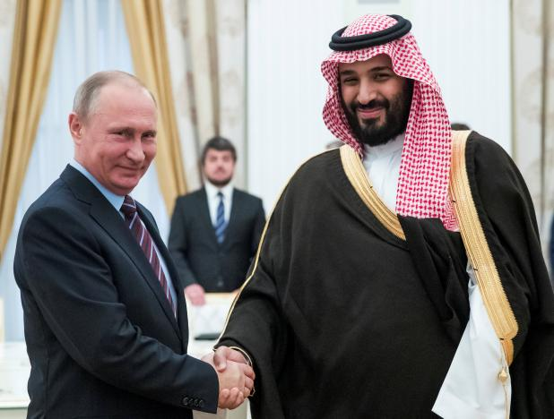 SAUDI ARABIA AND RUSSIA REACH MAJOR DEAL TO CUT OIL PRODUCTION